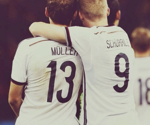 germany, thomas muller, and andre schürrle image
