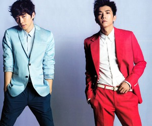 2PM, junho, and wooyoung image