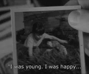 happy, young, and sad image