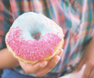 donut, doughnut, and food image