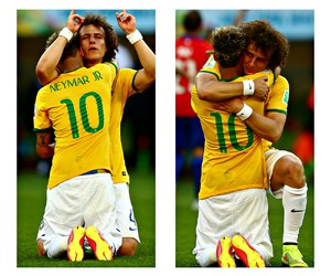 brasil, world cup, and neymar jr image