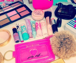 beauty, baby lips, and girly image