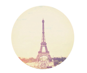 background, circle, and effiel tower image