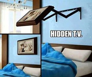 tv, hidden, and awesome image