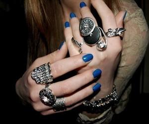 rings, fashion, and nails image