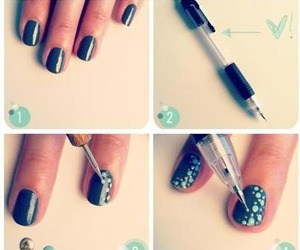 diy, nail art, and tutorial image