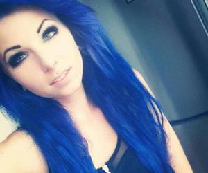 blue hair, site model, and dewii image