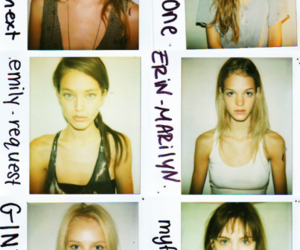 model, polaroid, and Abbey Lee Kershaw image