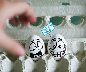 eggs, egg, and funny image