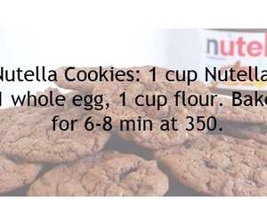 Cookies, Easy, and nutella image