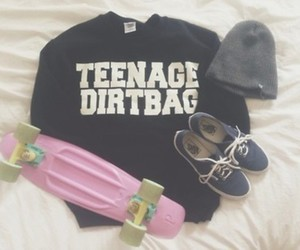 vans, outfit, and beanie image
