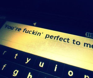 perfect, love, and text image