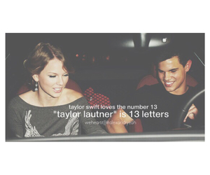 couple, red, and Taylor Lautner image