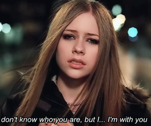Avril Lavigne and i'm with you image