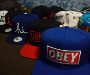 obey, photography, and swag image