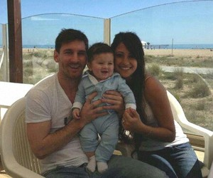 messi, thiago messi, and baby image