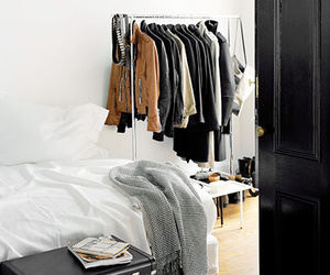 room, clothes, and bed image