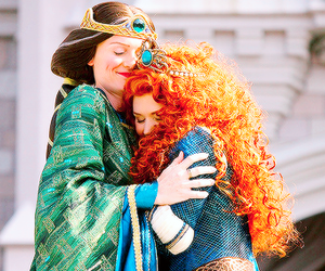 brave, merida, and princess image