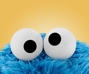 cookie, cookie monster, and food image