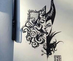 drawing, disney, and art image