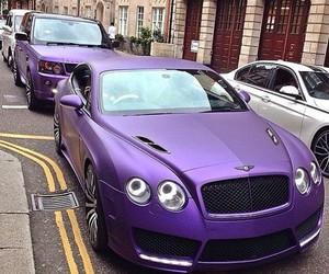 Bentley, purple, and car image