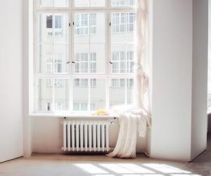 white, window, and light image