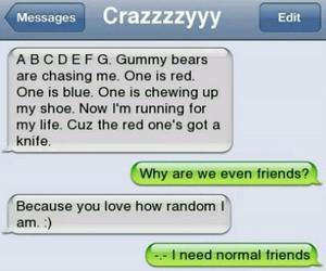 gummybears, crazy, and random image