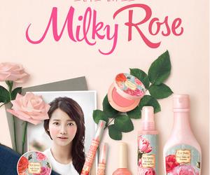 korea, makeup, and pink image