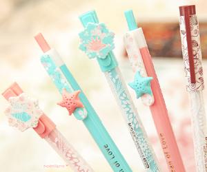pen, kawaii, and cute image