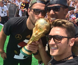 germany, mesut Özil, and lukas podolski image