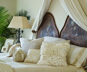 bedrooms, interior design, and linens image