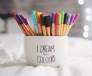 Dream, colors, and colours image