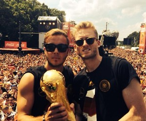 andre schürrle and mario gotze image