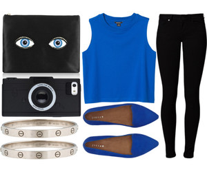 accessories, bag, and blue image