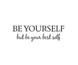 yourself, quotes, and be yourself image