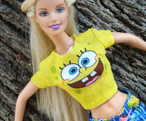 barbie, doll, and blonde image