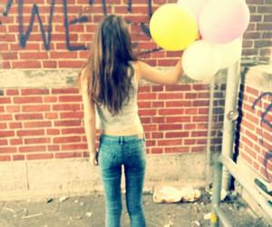girl, bund, and spray image