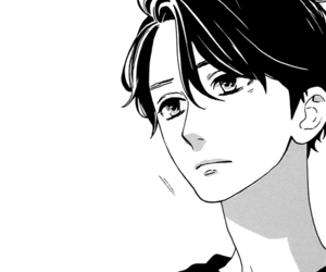 manga, monochrome, and hirunaka no ryuusei image