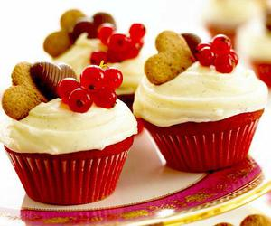 breakfast, cupcake, and meal image