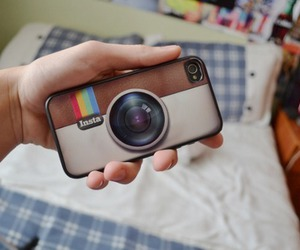 instagram and phone case image