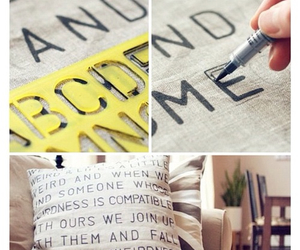 diy, ideas, and pillow image