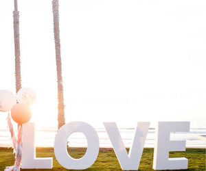love, beach, and wallpaper image