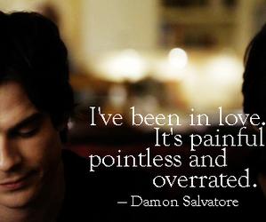 love, damon salvatore, and damon image