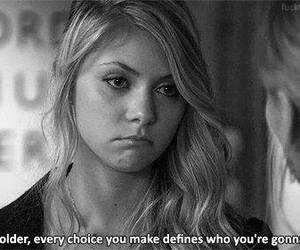 gossip girl, black and white, and quotes image