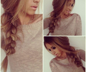 adorable, pretty, and braid image