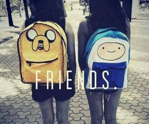 friends, adventure time, and finn image