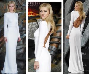 dress and nicola peltz image