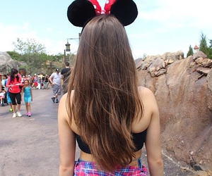 girl, hair, and disney image