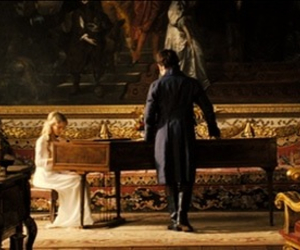 pride and prejudice, mr darcy, and piano image