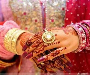 beautiful, design, and indian wedding image